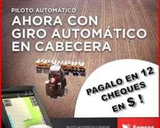 Piloto Automático Hidráulico Sensor con Giro en Cabecera