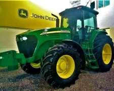 Tractor John Deere 7715 año 2009 180 HP con Piloto