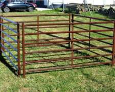 Paneles y Puertas para Ovinos Mecano Ganadero - el Impenetra