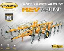Rastrillo Estelar en V REV 14000 - Grosspal
