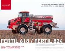 Fertilizadora Fertec Autopropulsada Modelo Fertil 618/824