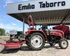 Tractor Hanomag 30 HP con Tres Puntos y Desmalezadora