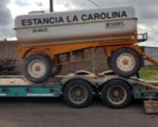 Tanque Para Transportar Agua