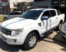 Camioneta Ford Ranger XLT año 2013