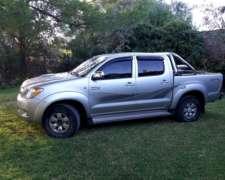 Toyota Hilux 2007 Srv Tel :2914604441