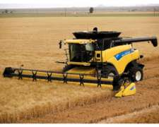 Cosechadora New Holland Cr9060 Neumáticos Dual - Salta