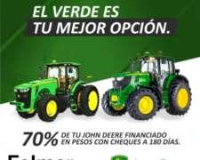 Tractor John Deere 6j, 7r y 8r