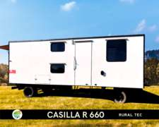 Casilla Rural R660 Equipada Premium para 4 Personas