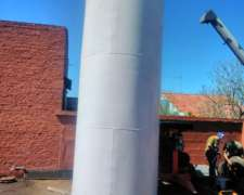 Tanque Cisterna Combustible Vertical Nuevo