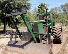 Tractor Deutz A 70 Con Pala Topadora