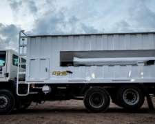 Carrocería Tolva Autodescargable con Tubo de Descarga 16m3