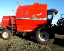 Cosechadora Massey Ferguson 5650 Advance Impecable