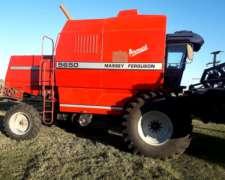 Cosechadora Massey Ferguson 5650 Advance Impecable