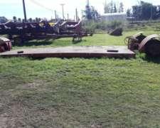 Carreton Hidraulico ,gimetal. 6 Mts Para Cargar