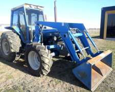 Tractor Ford 8030 con Pala