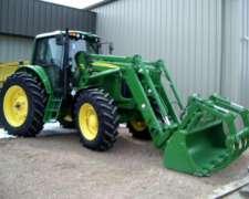 Tractor John Deere 7520 con Cargador, ANO 2006