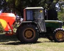 Sembradora de Pastura al Voleo, Ipacol DFD-600