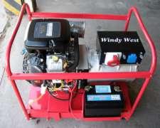 Grupo Electrógeno Briggs Stratton 15 Kva Motor 23 Hp Naftero