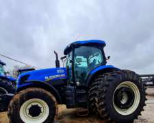 Tractor New Holland T7.240 año 2015 con Piloto Automatico