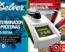 Determinador De Proteína / Delver M P D 1011 A A - 2.018