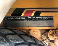 Sembradora Agrometal GX3 de 21/21