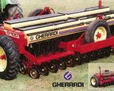 Gherardi G100 con Paralelogramo, Directa y Fert. Nueva