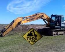 Excavadora Hyundai 210lc-7 2011 10.500hs 22tn Todo Vial