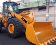 Pala Cargadora 3M3 Iron Xcmg ZL50 BR - Brasil