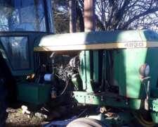 Tractor Agrícola Simple Johon Deere