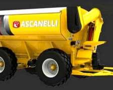 Tolvas Autodescargables Ascanelli Magnum +, 2 EJES/4 Ruedas