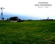 Lobos, Zapiola - Chacras Don Francisco 7000m2 a 14.000m2