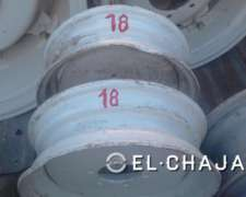 Llanta Agricola para Tractor 18 (6 Agujeros).-