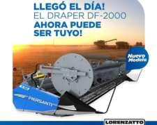 Plataforma Draper Piersanti DF-2035 Nuevo Entrega Inmediata