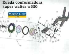 Sgg / W326 - Ruedas Conformadoras Dobles 1 X 12