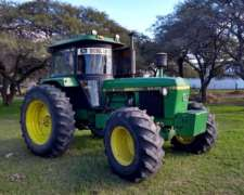 Tractor John Deere 3540 160 HP TDF Independiente