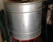 Extractora Miel, 24 Alzas, Galvanizada