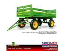 Acoplado Rural Agromec 4 T