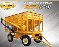 Acoplado Tolva Grosspal ATV 8-10