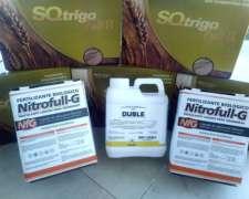 Inoculantes Pack Trigo, Biopotenciador Curasemillas