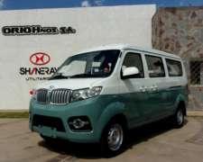 Shineray X 30 Van 7 Pas. 0km Año 2019, Tasa 16%