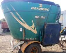 Mixer Vertical Agromec Usado