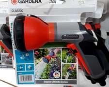 Pistola Multifución Classic + Conector Rápido 1/2 Gardena