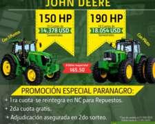 Tractor John Deere Nuevo 6150j de 150hp por Plan de Ahorro