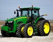 Ofrezco en Alquiler Tractor JD 8270r para Siembra de Trigo