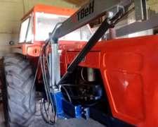 Tractor Fiat 800 Con El Motor Nuevo Y Pala Frontal Hidraulic