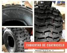 Cubiertas De Cuatris Nuevas