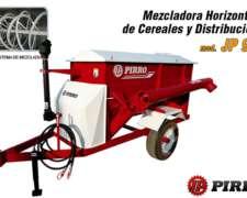 Mezcladora de Cereales Horizontal y Distribución JP94