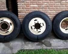 Vdo 6 Cubiertas Michelin 1000 X 20 Radial Con Llantas Y Prot