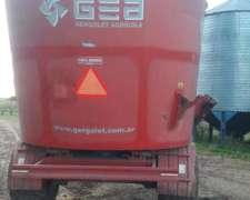 Mixer Vertical GEA 14m3 con Balanza