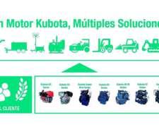 Motores Kubota Desde 7 Hp A 100 Hp Diesel